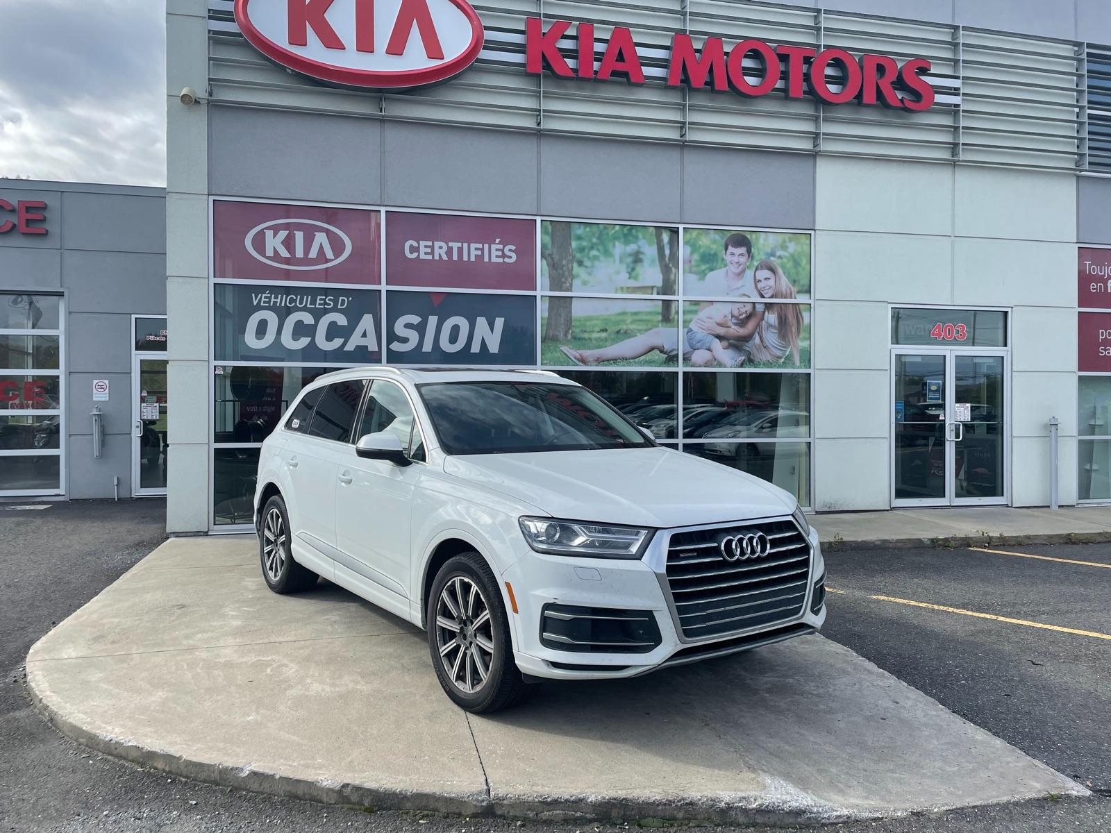 Audi Q7 2018 Komfort