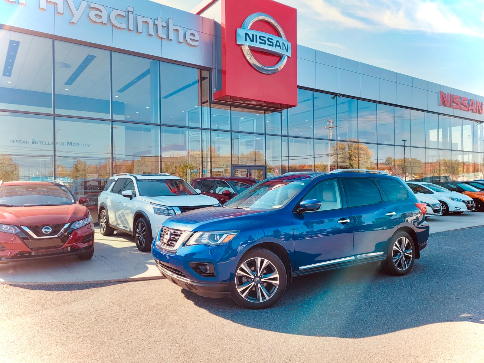 Nissan Pathfinder 2019 Platinum